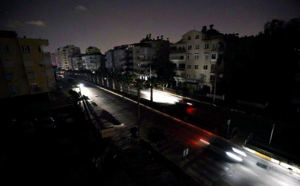 karanlık cadde