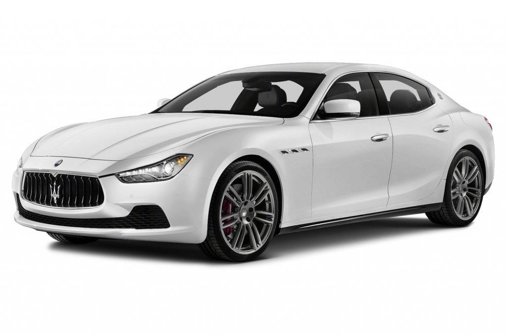 Beyaz Maserati