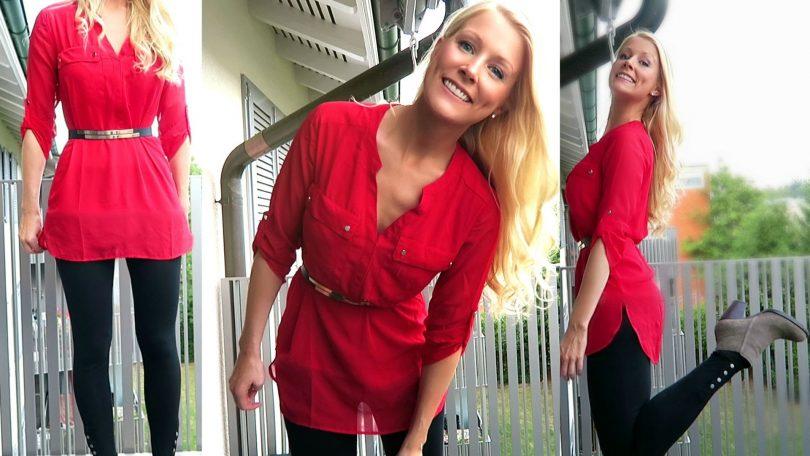 Rüyada Kırmızı Bluz Giymek