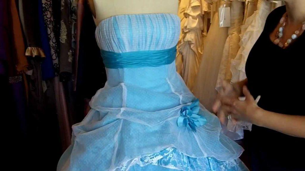 Rüyada Soluk Mavi Gelinlik Giymek