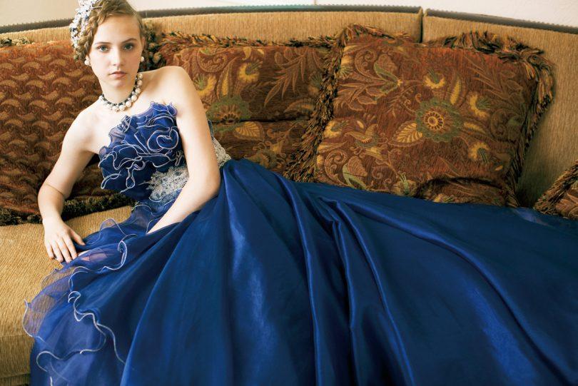 Rüyada Mavi Gelinlik Giymek