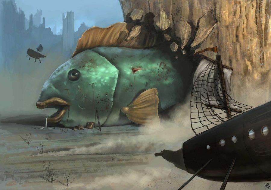 Rüyada Dev Balık Görmek