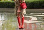 Rüyada Kırmızı Bot Giymek