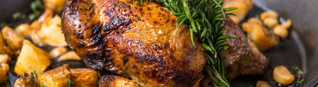 Rüyada Pişmiş, Kararmış, Yanmış Tavuk Eti Yemek