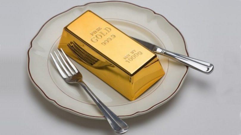 Rüyada Altın Yemek