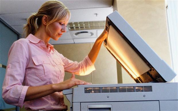 Rüyada Fotokopi Çekmek Makinede