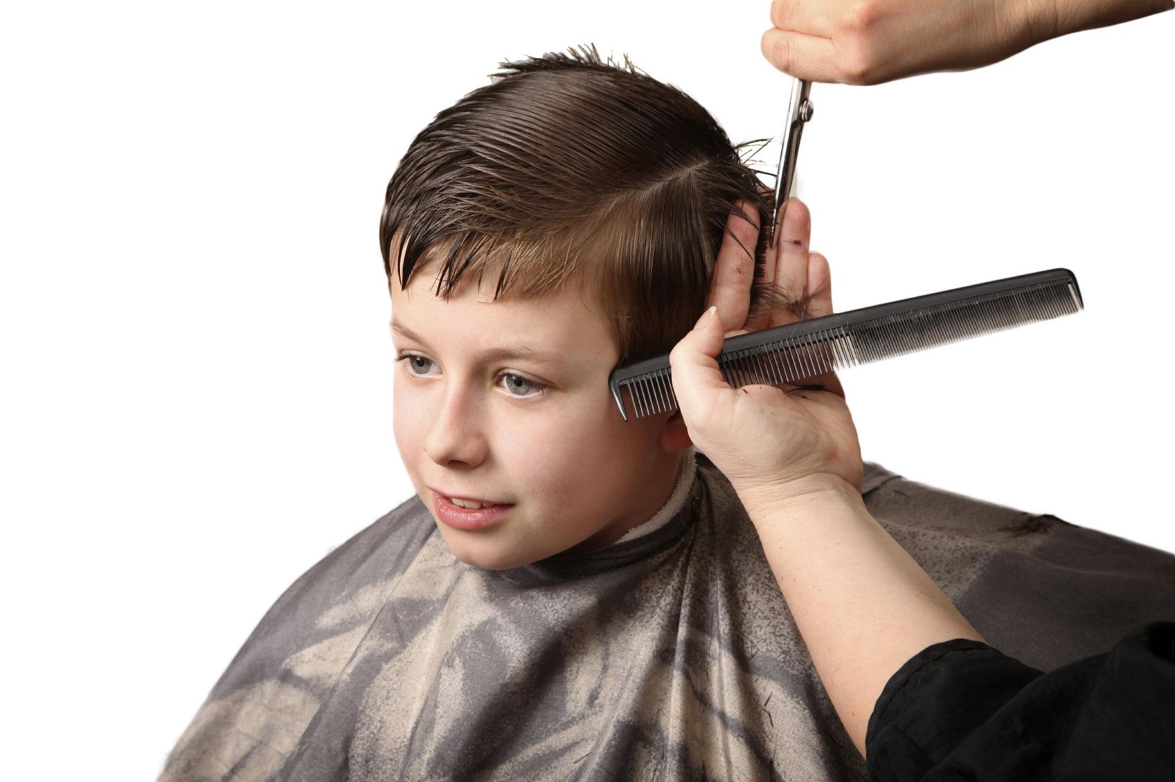 Как подстричь мальчика модно в домашних условиях фото пошагово