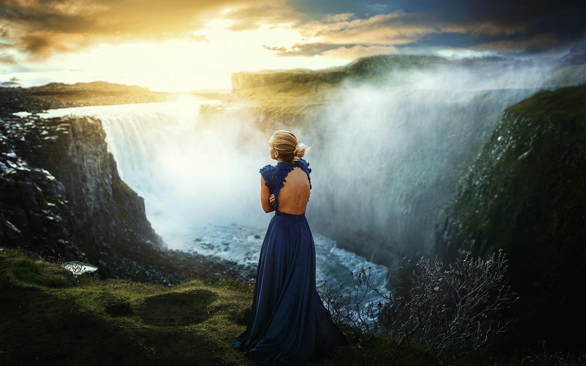 Rüyada Yırtık Mavi Etek Giymek