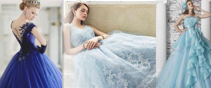 Rüyada Mavi Gelinlik Giydiğini Görmek