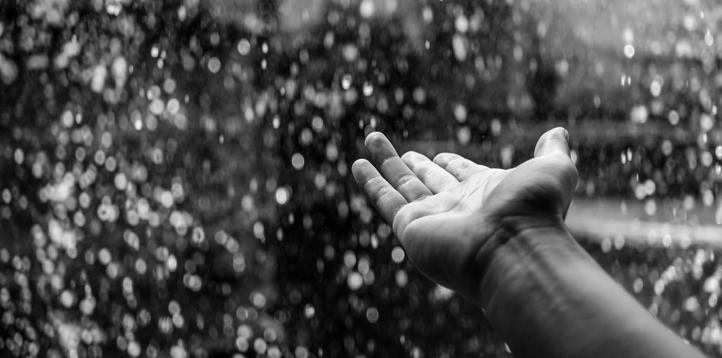 Rüyada Gece Üzerine Yağmur Yağması