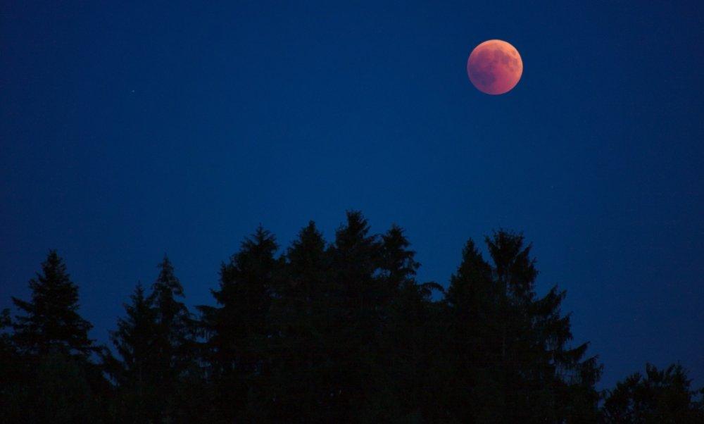 Rüyada Kızıl İki Tane Ay Görmek