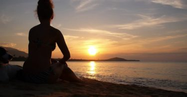 Rüyada Deniz Kenarında Oturmak