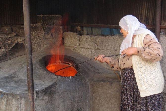 Rüyada Sacda Ekmek Pişirmek ve Kızartmak